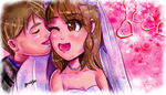 Kickstarter Commission: Happily Married by FaithWalkers