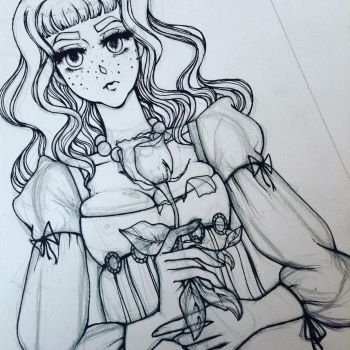 lucienne wip by ilaughateverything