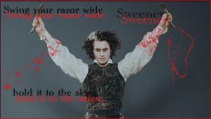 The ballad of Sweeney Todd by aLittle-Priest92