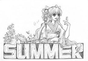 Seasons - Summer by Autumn-Sacura