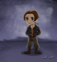 Jim Hawkins chibitized by VanillaKeyblade