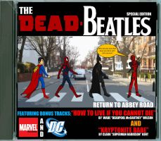 Deadpool on Abbey Road 2 by q2099