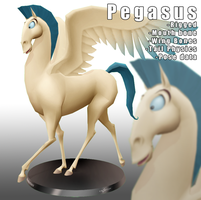 MMD- KH Pegasus -DL by MMDFakewings18