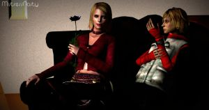 Heather and Maria by MistressNasty
