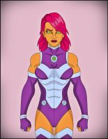 Starfire by DraganD