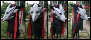 Mononoke Mask by Qarrezel