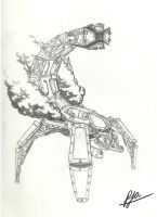 Steam Scorpion by andepoul