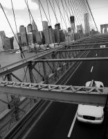 Brooklyn Bridge by cangelir