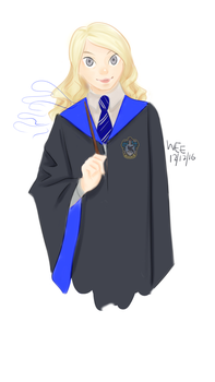 Luna Lovegood by grace-ern