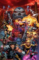 X-MEN: AGE OF APOCALYPSE by GURU-eFX
