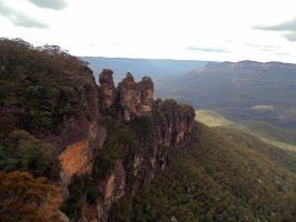 Three Sisters Katoomba by W00den-Sp00n