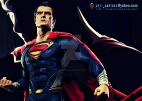 Man Of Steel (tribal style) by penisantoso