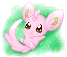Shiny Minccino by Sunshineshiny