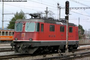 SBB Re 4-4 II 11173 by SwissTrain