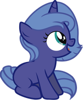 Young Luna by j5a4