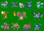 Pokemon edited sprites 2 by YT-05