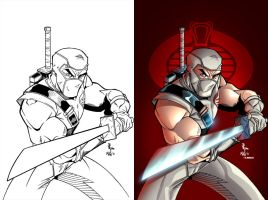 Stormshadow inks and color by Dany-Morales