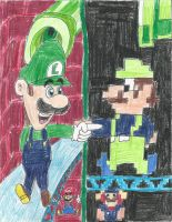 Luigi: Who's Dat-a Good-a Looking Guy? by PuffyTopianMan