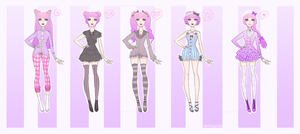 Wardrobe // Amnonia by Spooktastical