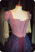 'Tangled' Rapunzel Costume WIP by Rachyf1