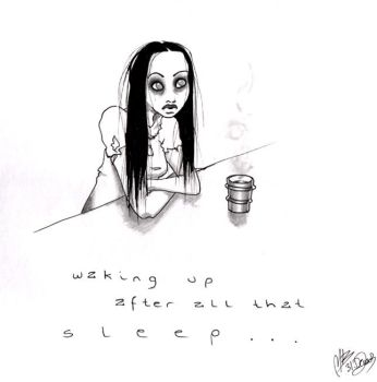 waking up after all that sleep by zum