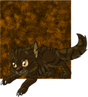 Tigerclaw kitten by SassyHeart