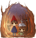 Over The Garden Wall by Blobical