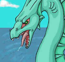 Sea Serpent. by FooHasMoved