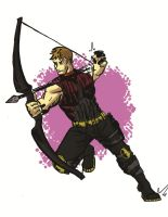 Hawkeye by warnoon