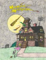 Maniac Mansion - old artwork by jhroberts