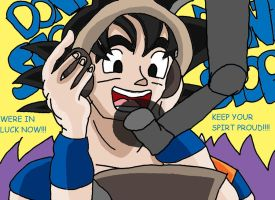 Goku sings Dragon soul by Krispina-The-Derp