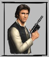 han solo paint by alexsollazzo