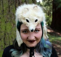New Fox and Bobcat Headdresses - 7-27-15 by lupagreenwolf