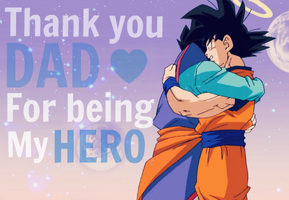 Thank you dad! by SonGohanZ