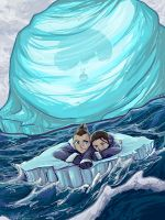 The Boy in the Iceberg by angiful