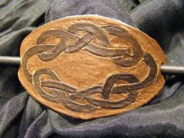 celtic knot hairpin 2 by BacktoEarthCreations