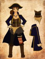 Pirate Outfit Design by flynnbean