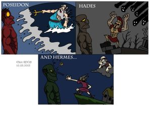 Greek Gods vs Titans