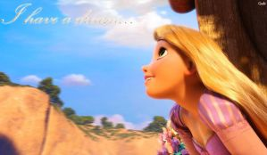 I have a dream. Tangled by GadeChii