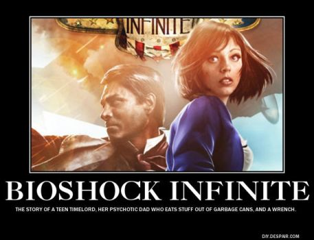 Bioshock Infinite Demotivated by darknessofanubis