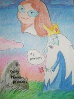 My princess... Ice King by biachunli