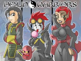 Heylin Warriors by XJKenny