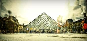 Ghosts at Louvre by uploathe