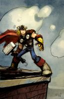 The Mighty Thor by matthewart