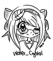 water_crystal -- by rubberduckii