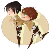 [P] Ereri (for Bitter-Sweet-Candy) by KAI314