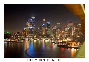 City on Flame by Thoran