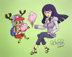 Commission: Hinata X Choper by PoOfyPink