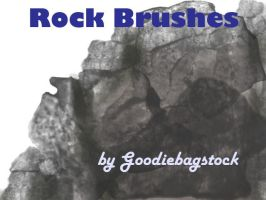 Rock Brushes by GBS by goodiebagstock