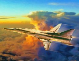 Tu-22M3 by Distantstarr